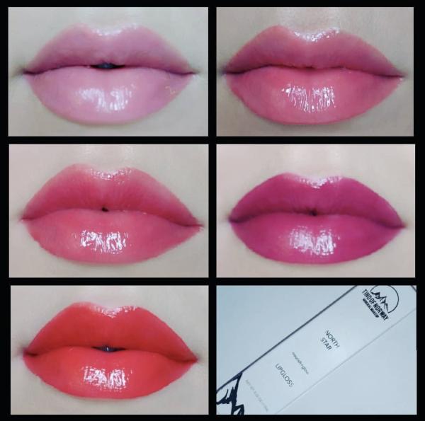 Блеск для губ №1