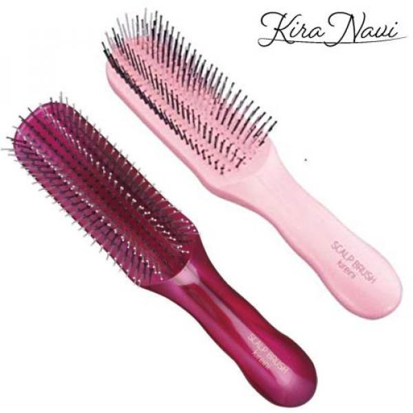 Расческа Scalp Brush Kireini (pink) для густых волос