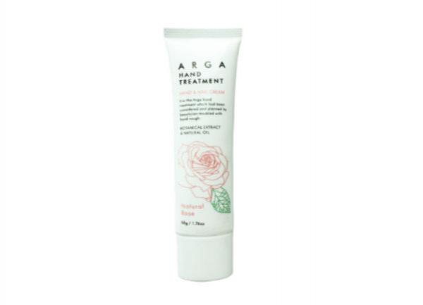 Лечебный крем ARGA для рук и ногтей – аромат «Розы»