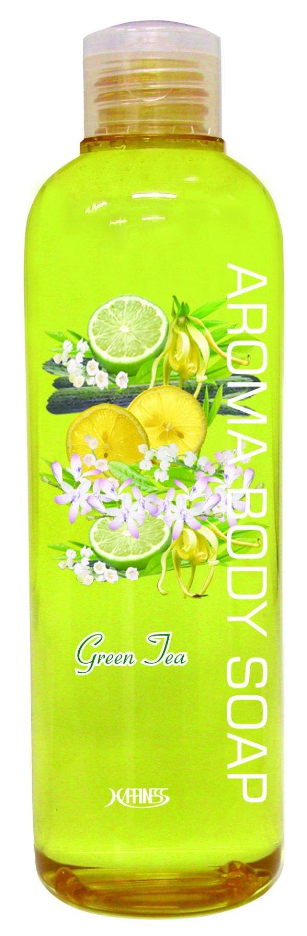 Гель для душа «Зеленый чай» серия АРОМА
