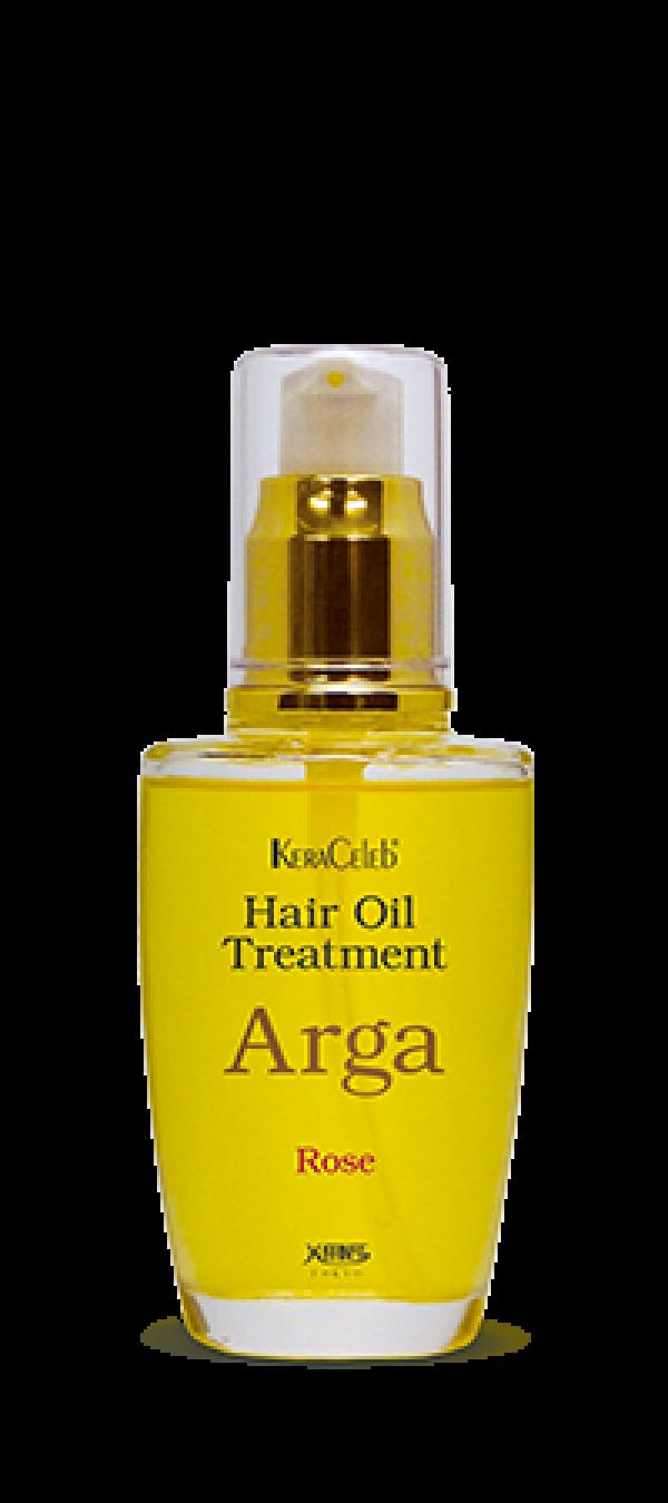 Лечебное аргановое масло для волос Арга (роза)