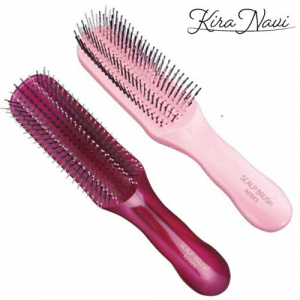 Расческа Scalp Brush Kireini (Ruby) для тонких, волнистых волос