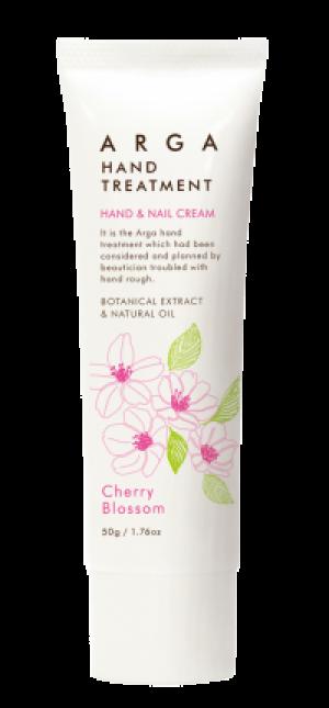 Лечебный крем ARGA для рук и ногтей – аромат «Цветение вишни»
