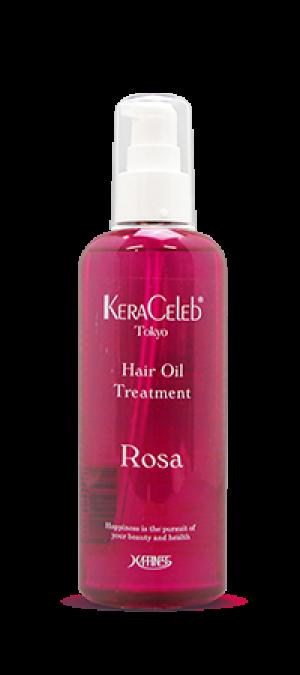 Увлажняющее масло для сухих волос Kera Celeb Rosa
