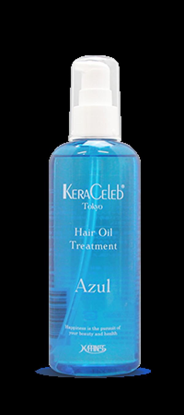 Восстанавливающее масло для гладкости волос Kera Celeb Аzul